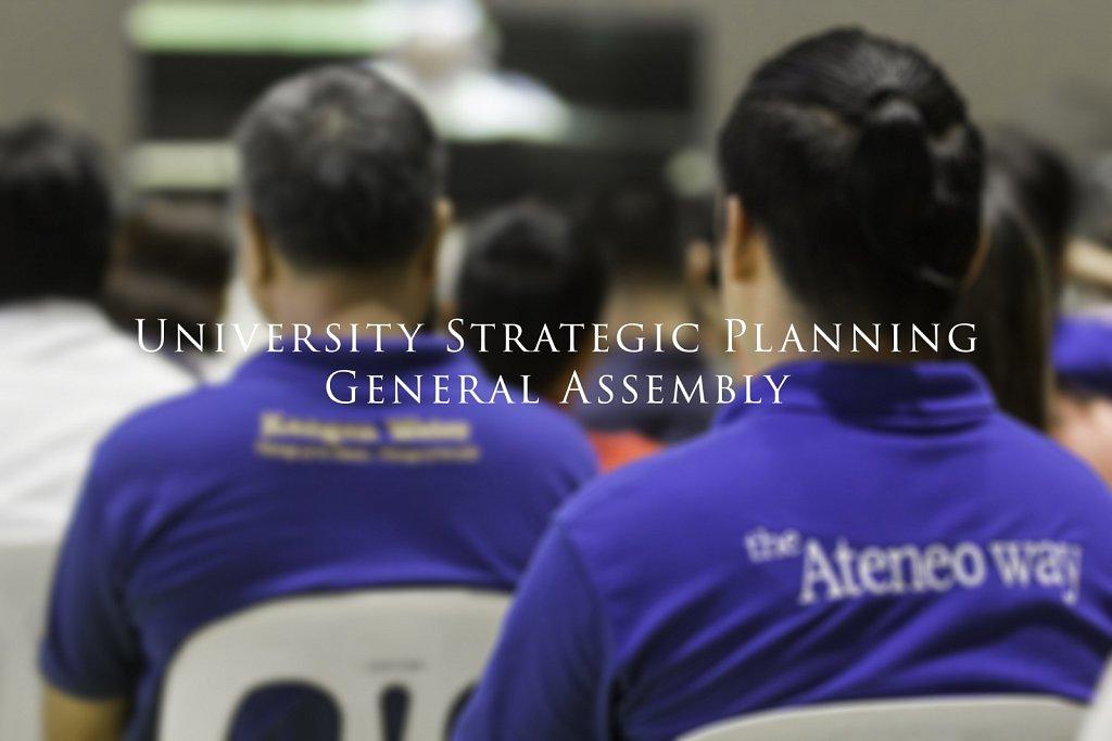 2015-09-21 University Strategic Plan General Assembly