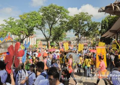 Ateneo Fiesta 2015 Parade1