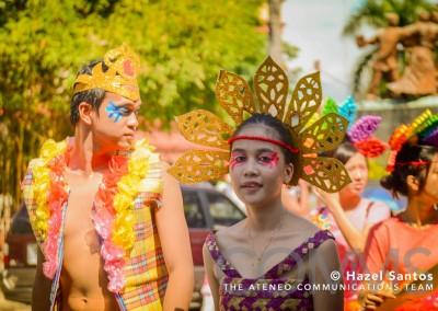 Ateneo Fiesta 2015 Parade3