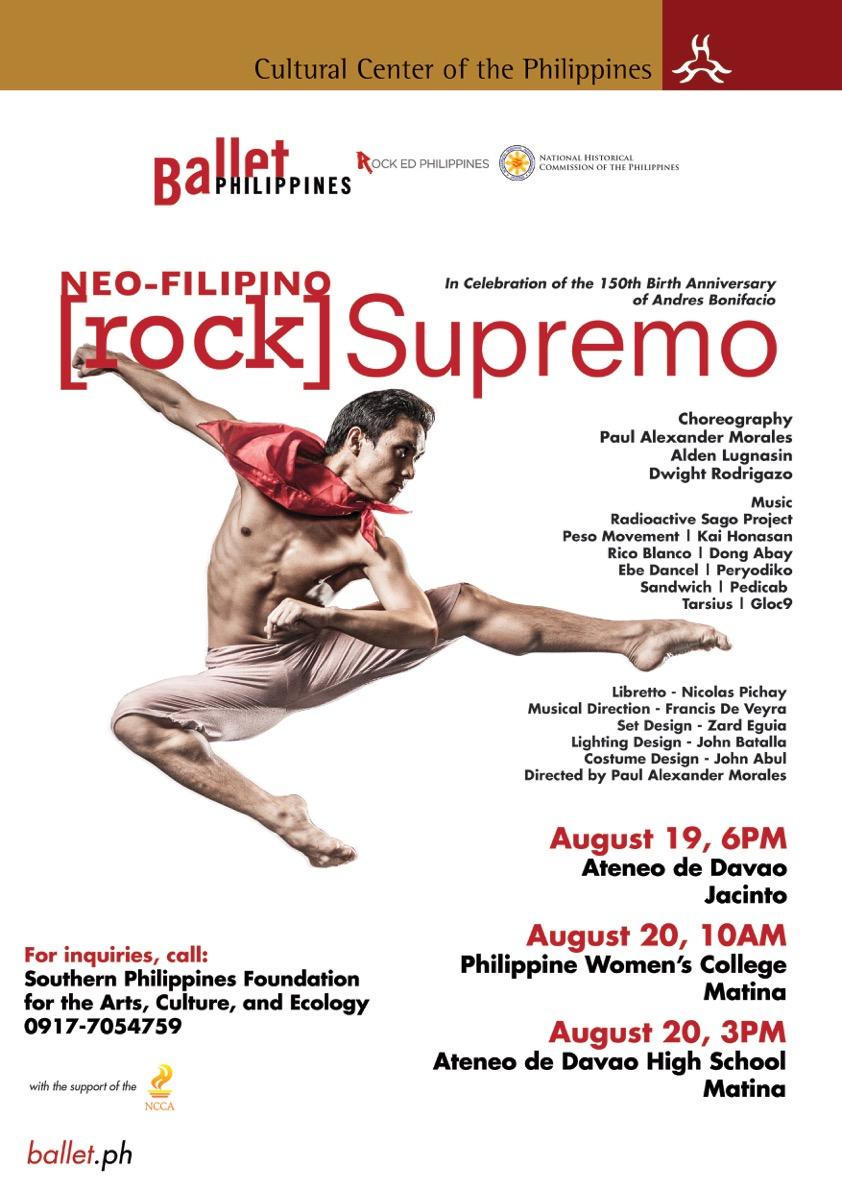 Rock Supremo Davao - A3 Poster